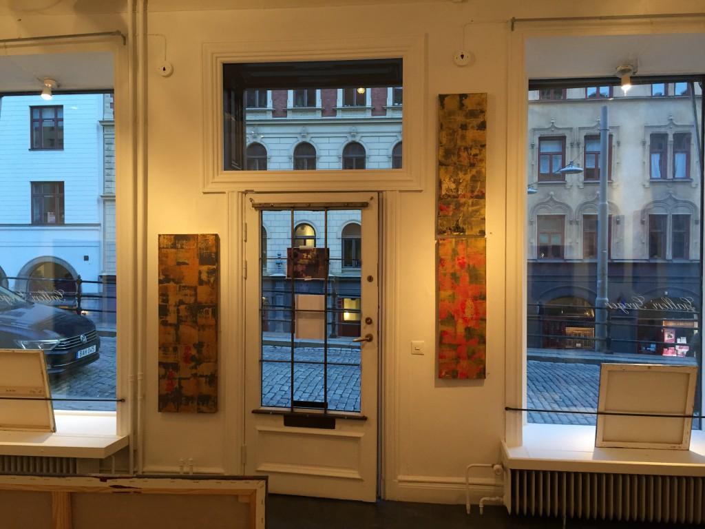 Galleriet under utställningen