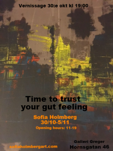 Galleri Greger, Stockholm: 'Time to trust your gut feeling'